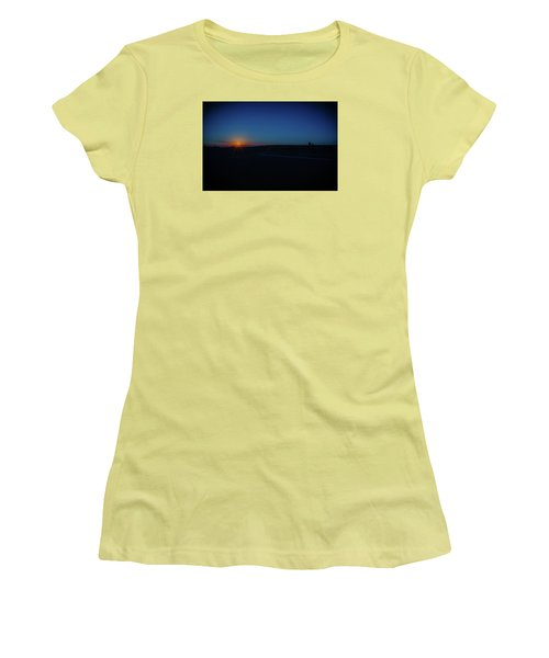 Sunrise On The Reservation Women's T-Shirt (Junior Cut) by Mark Dunton