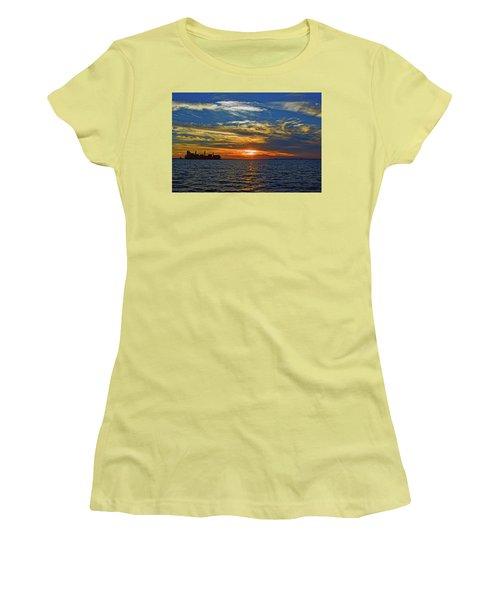 Sunrise Sail Women's T-Shirt (Athletic Fit)