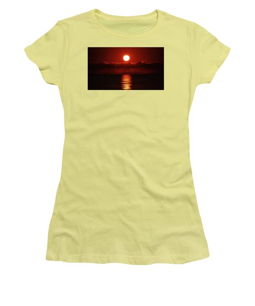 Sunrise Spotlight Delray Beach Florida Women's T-Shirt (Athletic Fit)