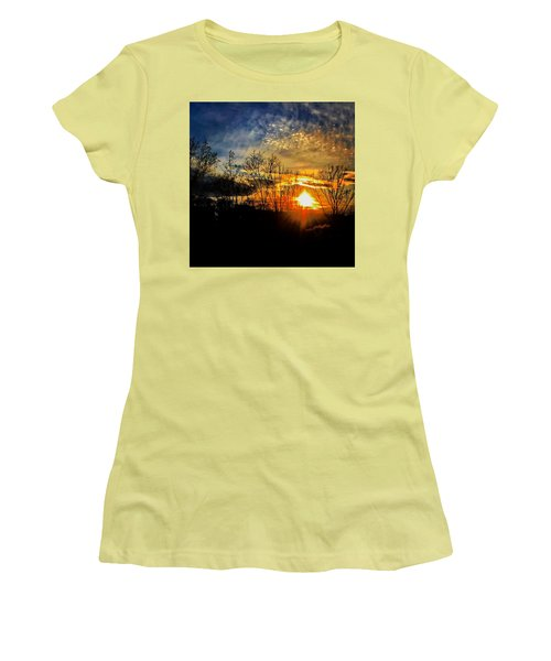 Sunset #1 Women's T-Shirt (Athletic Fit)