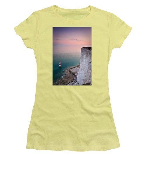 Sunset At Beachy Head Women's T-Shirt (Athletic Fit)