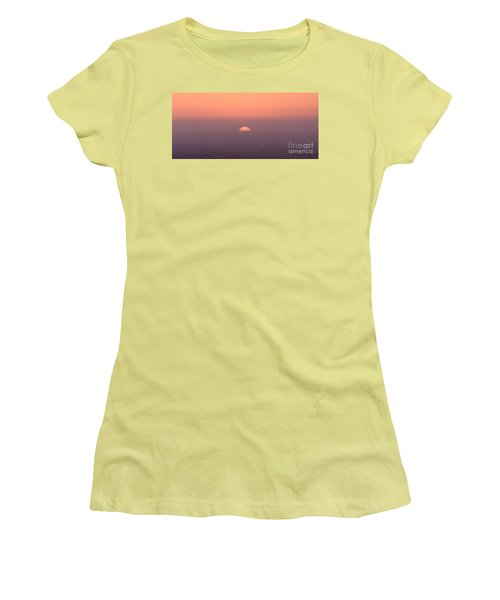 Sunset At Pacifica Women's T-Shirt (Athletic Fit)