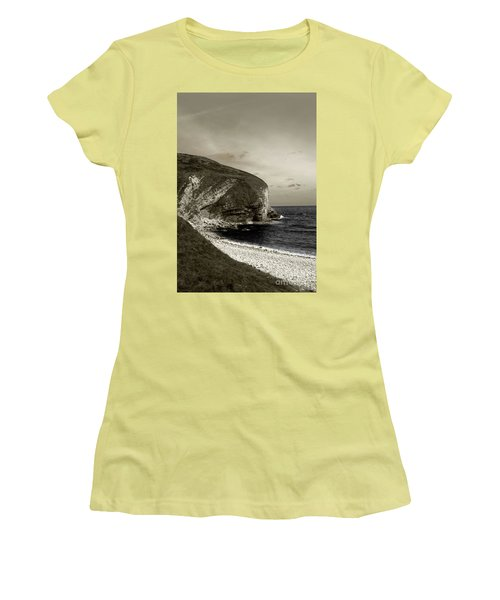 Sunset Cliff Women's T-Shirt (Athletic Fit)