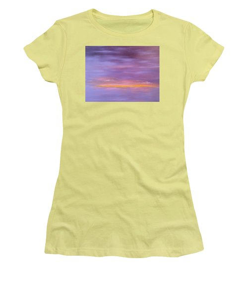 Golden Sunset Women's T-Shirt (Athletic Fit)