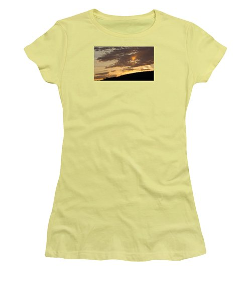 Sunset On Hunton Lane #5 The Heart Knows Women's T-Shirt (Junior Cut) by Carlee Ojeda