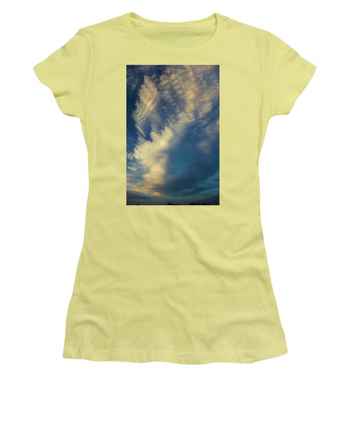 Sunset Stack Women's T-Shirt (Junior Cut)