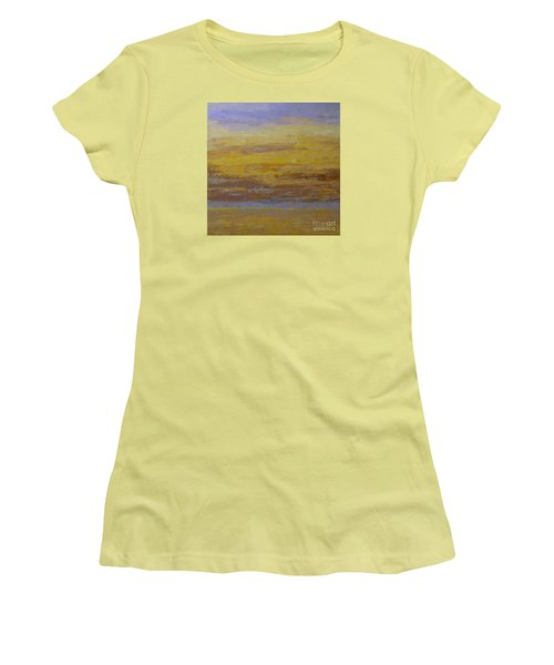 Sunset Storm Clouds Women's T-Shirt (Athletic Fit)