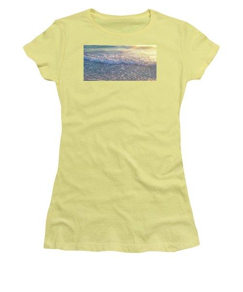 Sunset Tide Women's T-Shirt (Junior Cut) by Ginny Schmidt