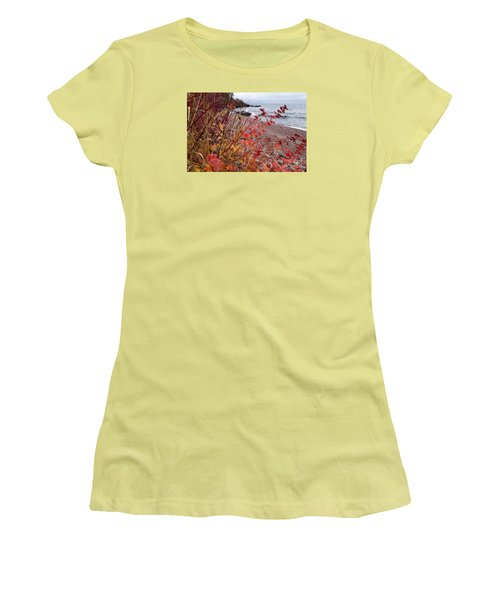 Superior November Color Women's T-Shirt (Junior Cut) by Sandra Updyke