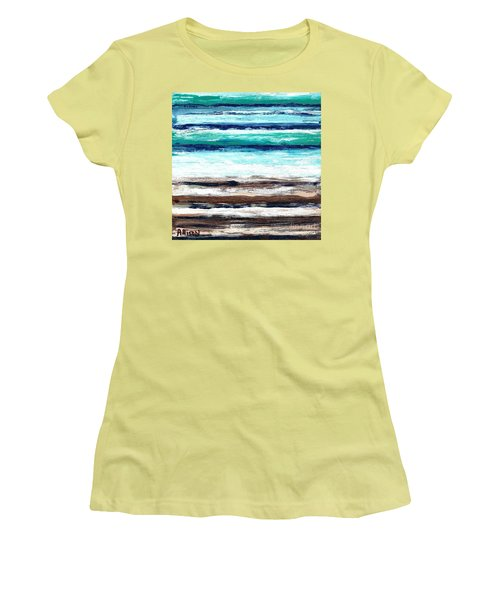 Surf And Turf Women's T-Shirt (Athletic Fit)