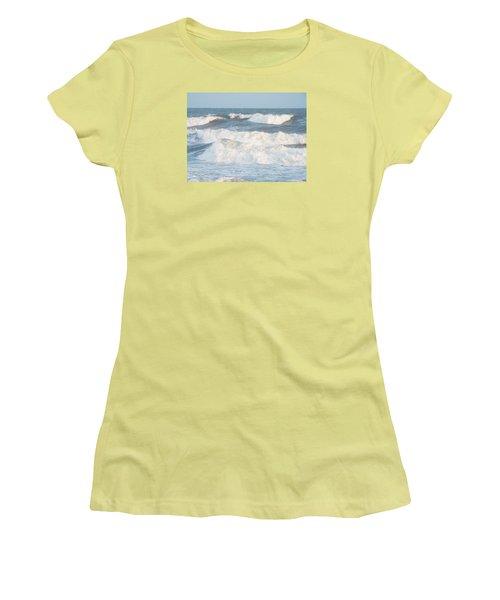 Surf Up Women's T-Shirt (Junior Cut) by Jake Hartz