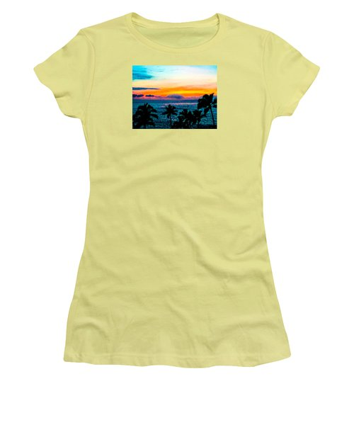 Surreal Sunset Women's T-Shirt (Athletic Fit)