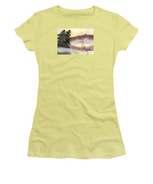 Surveyor Of The Morning Women's T-Shirt (Athletic Fit)