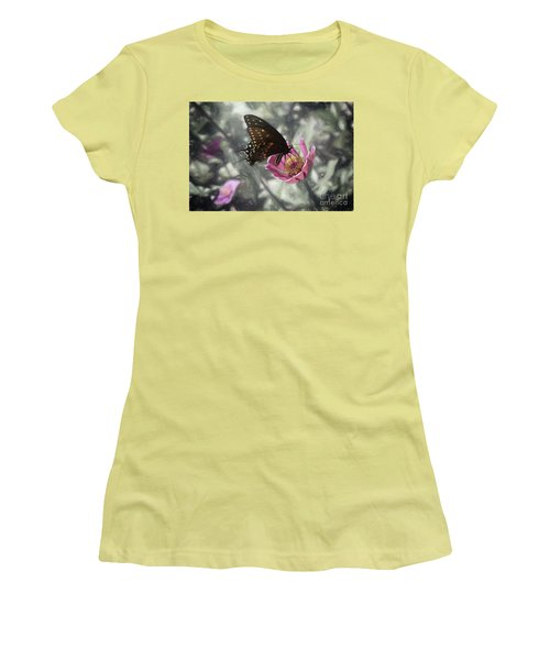 Swallowtail In A Fairytale Women's T-Shirt (Athletic Fit)