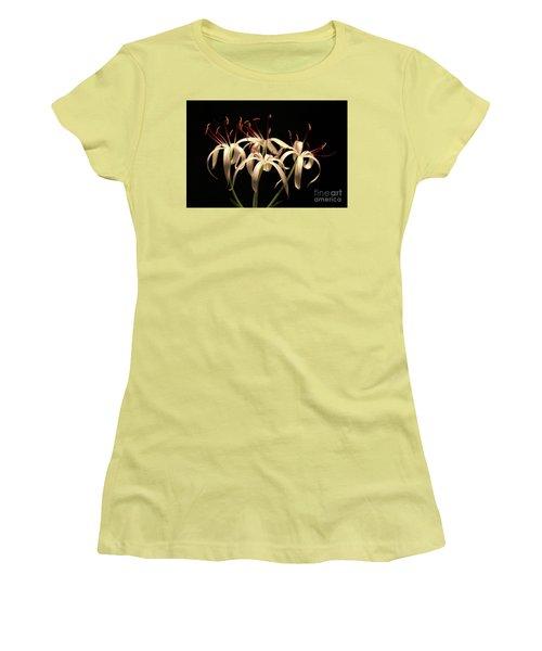 Swamp Lily Women's T-Shirt (Junior Cut) by Meg Rousher