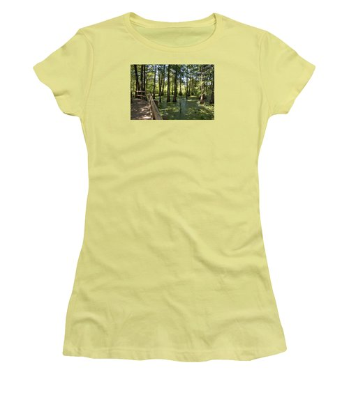 Swamps Women's T-Shirt (Athletic Fit)