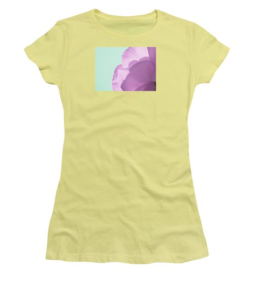 Women's T-Shirt (Junior Cut) featuring the photograph Sweet Loving Faith by The Art Of Marilyn Ridoutt-Greene