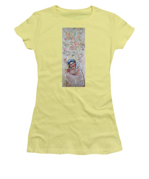 Sweet Secrets Women's T-Shirt (Junior Cut) by Sharon Furner