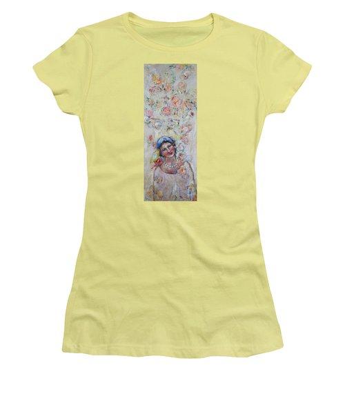 Sweet Secrets Women's T-Shirt (Athletic Fit)