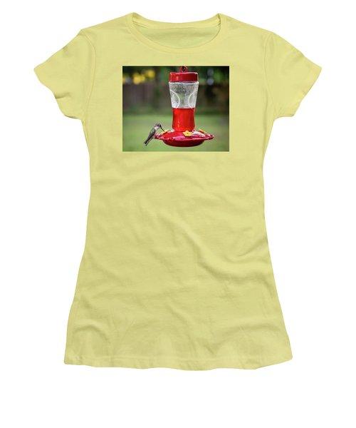 Sweet Sip Women's T-Shirt (Junior Cut) by Denis Lemay