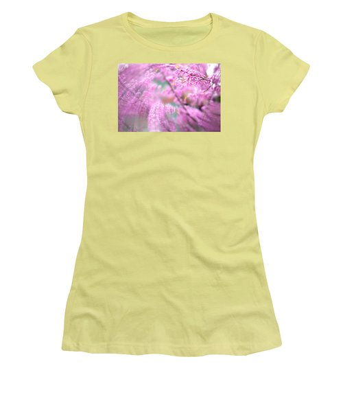 Swirls Of Spring Women's T-Shirt (Athletic Fit)