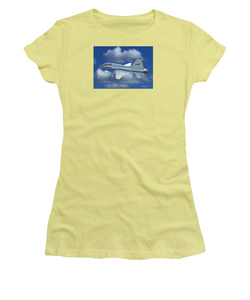 T-38 Nasa Trainer Women's T-Shirt (Athletic Fit)