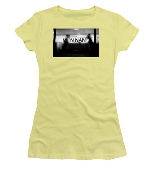 Women's T-Shirt (Junior Cut) featuring the photograph Table For Two by Valentino Visentini