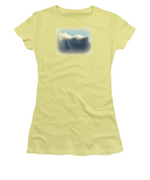 Table Rock With Cloud 2 Women's T-Shirt (Junior Cut) by John Potts