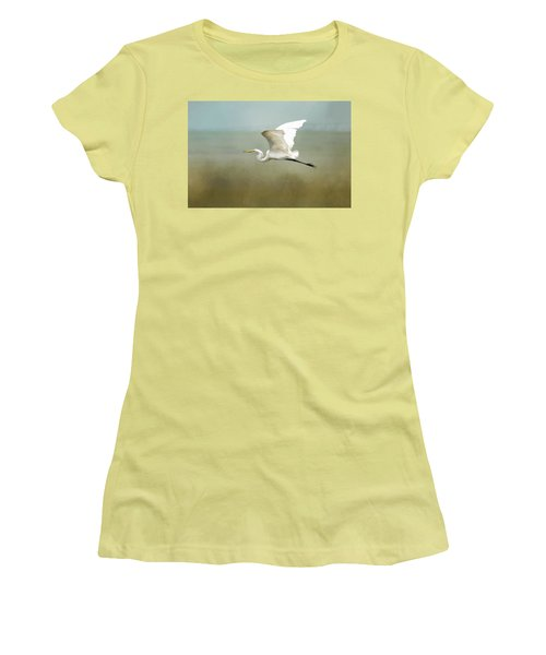 Taking Off  Women's T-Shirt (Athletic Fit)
