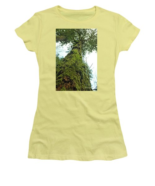 Tall Tall Tree Women's T-Shirt (Athletic Fit)
