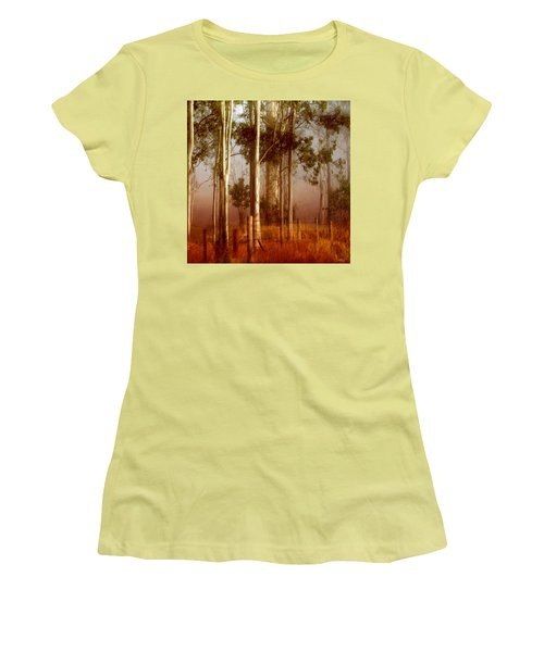 Tall Timbers Women's T-Shirt (Junior Cut) by Holly Kempe