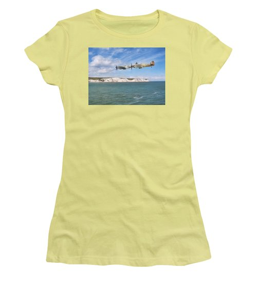 Women's T-Shirt (Junior Cut) featuring the photograph Tally Bally Ho by Roy McPeak
