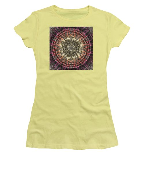 Tangendental Meditation Women's T-Shirt (Athletic Fit)