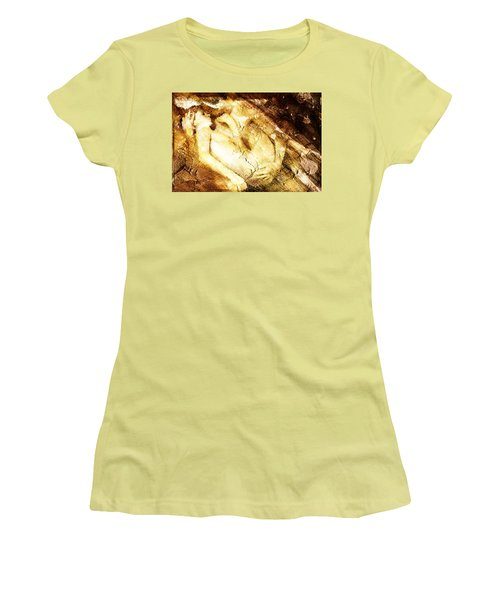 Tangle Of Naked Bodies Women's T-Shirt (Junior Cut) by Andrea Barbieri
