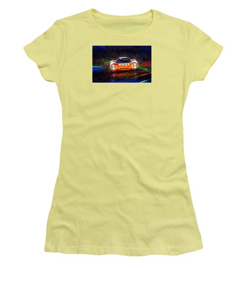 Targa Tempest Women's T-Shirt (Junior Cut) by Alan Greene