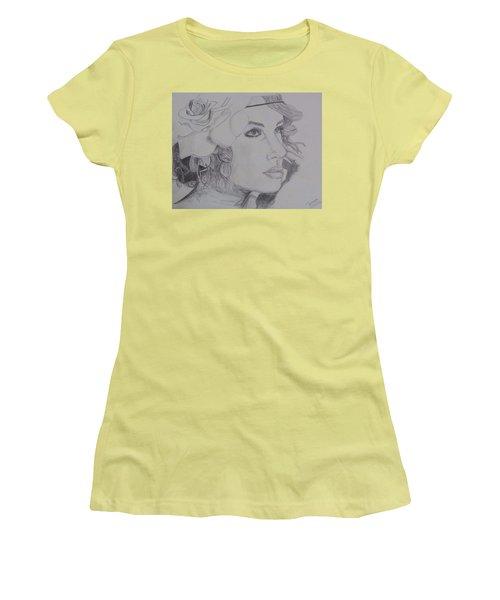 Taylor Swift Women's T-Shirt (Junior Cut) by Tanmaya Chugh