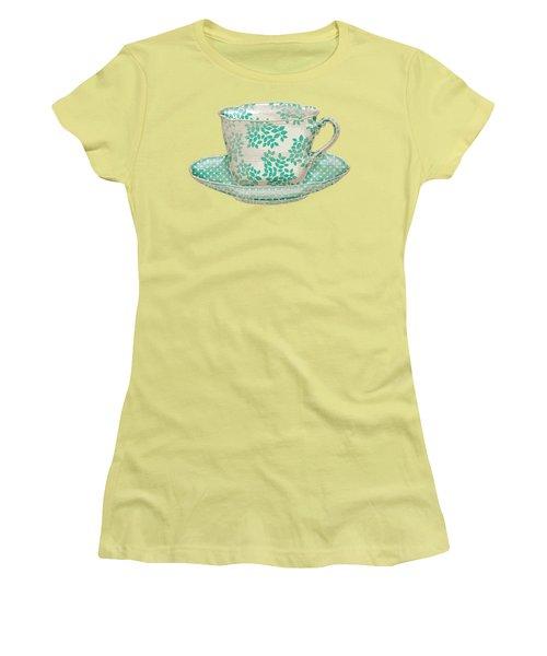 Teacup Garden Party 1 Women's T-Shirt (Junior Cut)