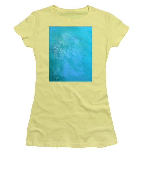 Teal Women's T-Shirt (Athletic Fit)