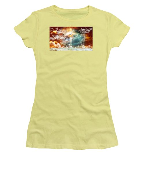 Tears To Triumph Women's T-Shirt (Junior Cut) by Dolores Develde
