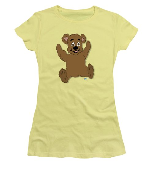 Teddy's First Portrait Women's T-Shirt (Athletic Fit)
