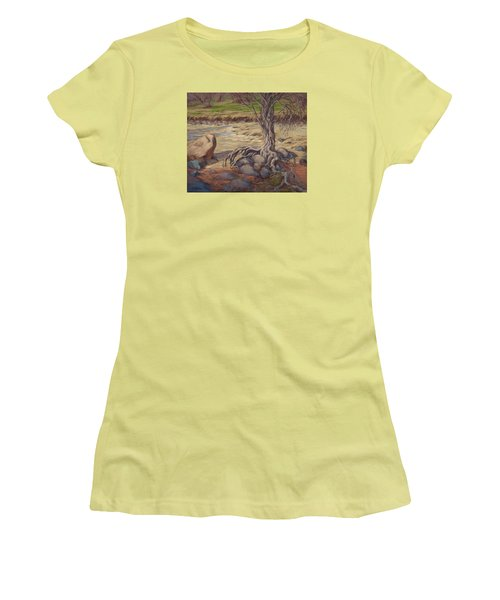 Tenacity Women's T-Shirt (Junior Cut) by Jane Thorpe