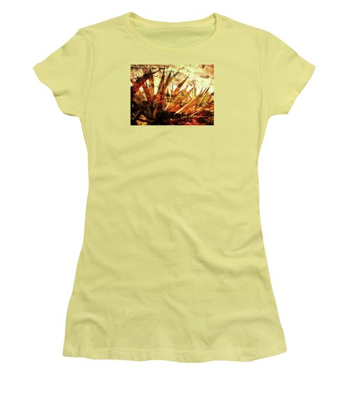 Tequila Field Women's T-Shirt (Athletic Fit)