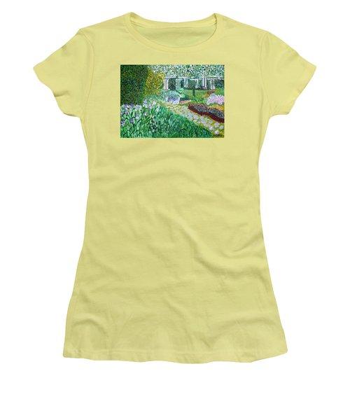 Tete D'or Park Lyon France Women's T-Shirt (Junior Cut) by Valerie Ornstein