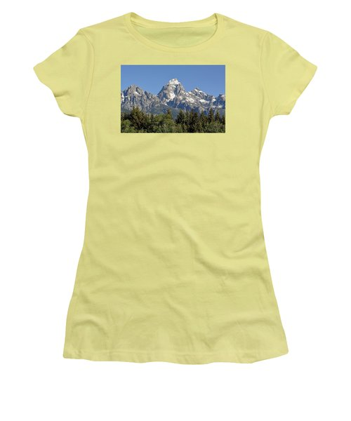 Teton Grande Women's T-Shirt (Athletic Fit)