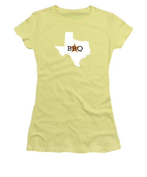 Texas Bbq Women's T-Shirt (Athletic Fit)