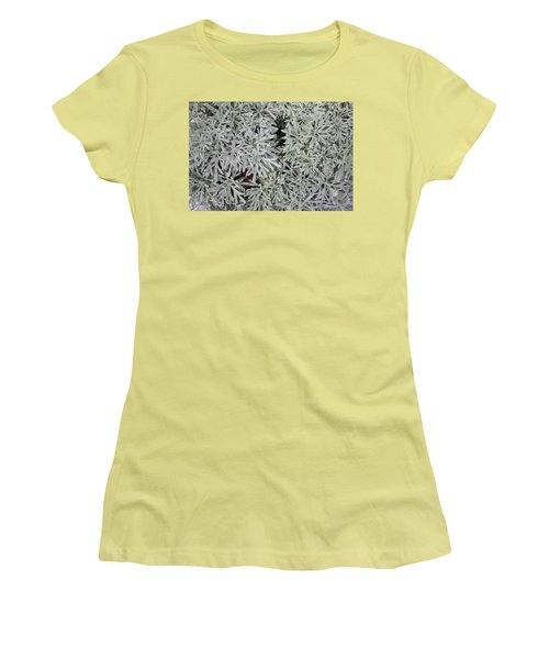 Women's T-Shirt (Athletic Fit) featuring the photograph Texture Of The Nature by Jingjits Photography