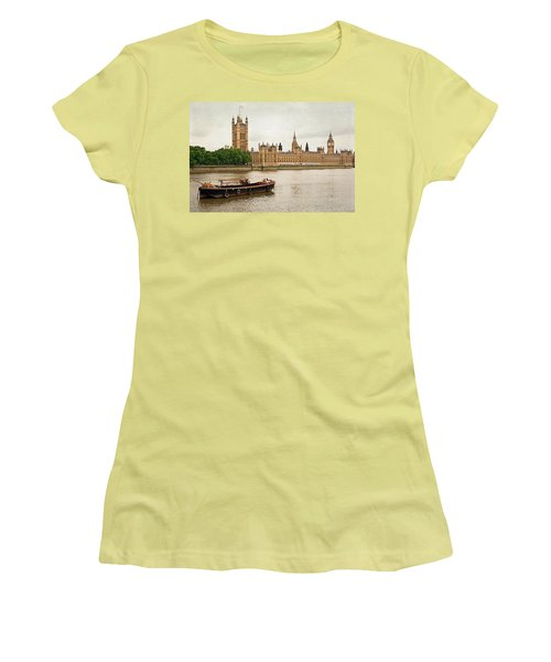 Thames Women's T-Shirt (Junior Cut) by Keith Armstrong