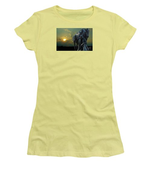 Thanks For The Rain  Women's T-Shirt (Junior Cut) by Janette Boyd