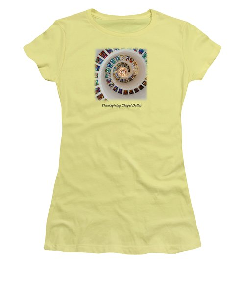Thanksgiving Stained Glass V2 T-shirt Women's T-Shirt (Athletic Fit)