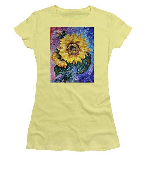 That Sunflower From The Sunflower State Women's T-Shirt (Junior Cut)
